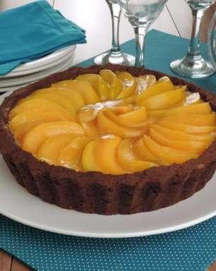Receitas de torta de pêssego para uma sobremesa deliciosa