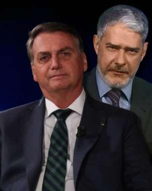 Bolsonaro provoca Bonner e promove nova TV que vai apoiá-lo
