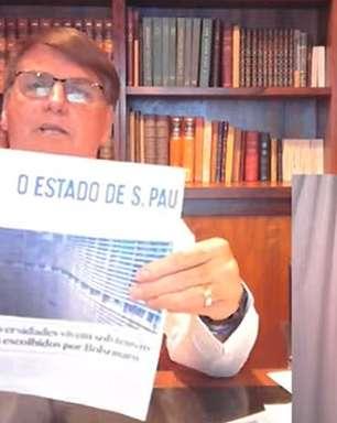 Bolsonaro revela que seu primeiro 'emprego' foi no Estadão