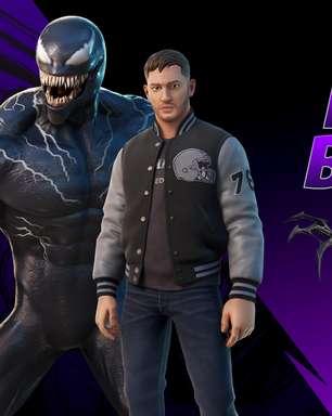 Tom Hardy chega ao Fortnite como Venom