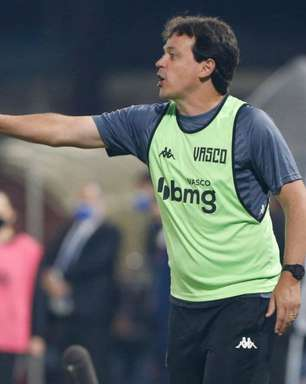 Fernando Diniz valoriza superação do Vasco para vencer o Brusque: 'Ganho extra de confiança'
