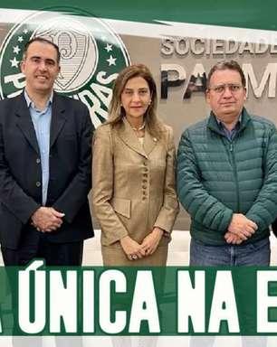 Boletim| Sem concorrência, Leila Pereira será candidata única nas eleições presidenciais do Palmeiras