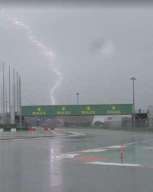 Previsão se confirma, chuva desaba em Sóchi e deixa indefinida programação da Fórmula 1