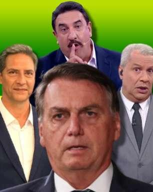 Maiores apoiadores de Bolsonaro na TV vivem crise no Ibope