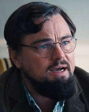 """Leonardo DiCaprio alerta que o mundo vai acabar em cena de """"Não Olhe Para Cima"""""""
