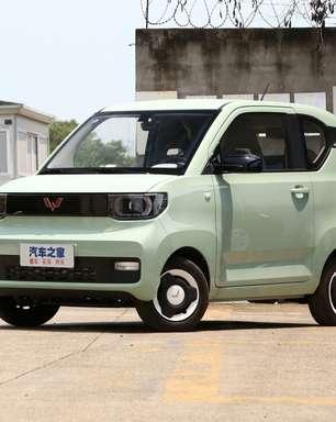 Conheça o carro elétrico chinês que custa só R$ 30 mil