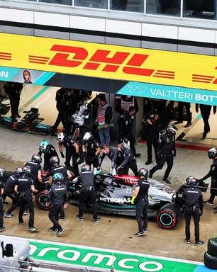 Mercedes fez o pit stop mais rápido no GP da Rússia de F1