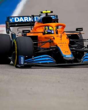 """McLaren divide com Norris culpa por pit-stop tardio na Rússia: """"Decisão da equipe"""""""