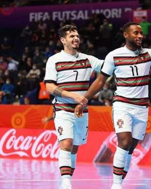 Portugal vence a Espanha de virada e avança à semifinal da Copa do Mundo de futsal