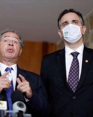 Se Pacheco colocar reforma da IR na gaveta não está preocupado com Bolsa Família, diz Guedes