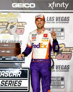 Hamlin domina, vence etapa de Las Vegas e avança nos playoffs da Nascar