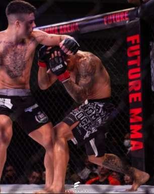 """Atleta da Rio Fighters, argentino Rodrigo Roldan comemora vitória no Future MMA: """"trabalho duro para chegar no topo"""""""