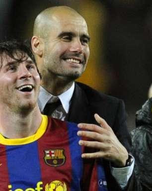 Messi e Guardiola reencontram-se pela Champions League após saída do Barcelona: relembre os últimos jogos