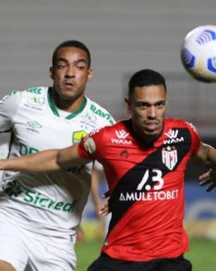 Em jogo movimentado na primeira etapa, Atlético-GO e Cuiabá acaba em empate