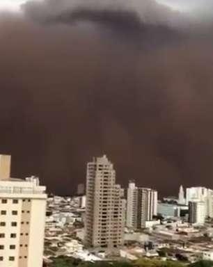Como se formou nuvem de poeira que 'engoliu' interior de São Paulo