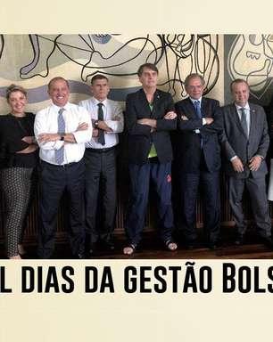 Crises marcam mil dias da gestão Bolsonaro