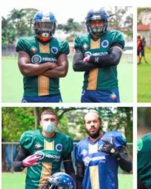 Time de Futebol Americano da Raposa, o Cruzeiro FA, apresenta uniformes de treino da temporada