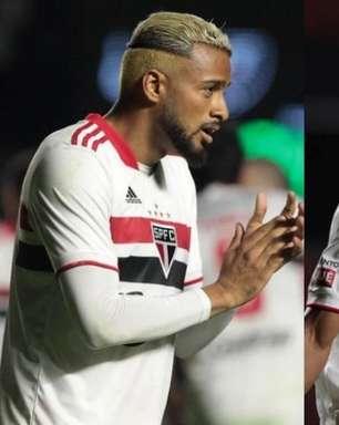 Ala esquerda do São Paulo volta a ter disputa pela titularidade; veja números de Reinaldo e Welington