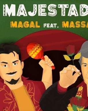 """Sidney Magal lança clipe de """"Majestade"""" sua parceria com Massa"""