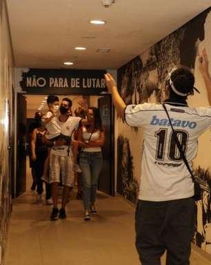 Tour no estádio do Corinthians ganha selo de excelência turística