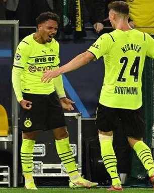 Sem Haaland, Borussia Dortmund vence o Sporting pela Champions