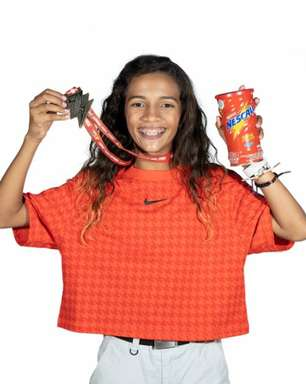 Sensação das Olimpíadas, Rayssa Leal é a nova embaixadora da Nescau
