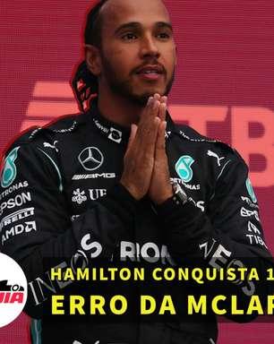 Em Dia: Hamilton conquista 100ª vitória na F1 em dia de erro da McLaren