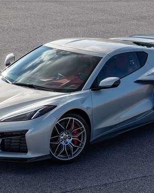 Chevrolet revela primeira imagem do novo Corvette Z06