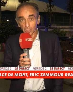 Odiado jornalista de direita é ameaçado na rua em Paris