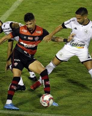 Botafogo joga mal e empata sem gols contra o Vitória