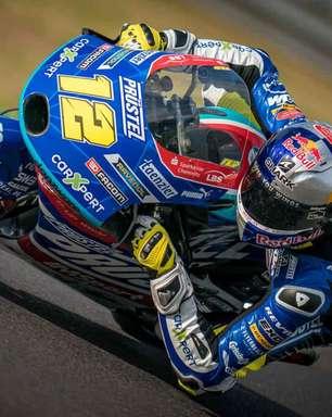 Salac supera Antonelli no fim e lidera primeiro dia de treinos da Moto3 em Austin