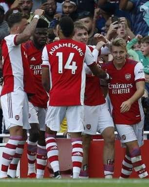 Brighton x Arsenal: onde assistir, prováveis escalações e desfalques do jogo da Premier League