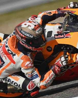 Marc Márquez mantém Honda na frente no treino 2 em Austin. Quartararo é terceiro