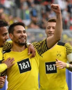 Sem Haaland, Borussia Dortmund vence o Augsburg em casa pela Bundesliga