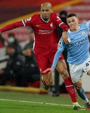 Liverpool x Manchester City: onde assistir, horário e escalações do jogo do Campeonato Inglês