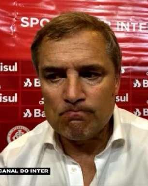 """INTERNACIONAL: Aguirre justifica decisão em realizar apenas uma substituição na derrota para o Atlético-MG: """"não vi necessidade em fazer trocas"""""""