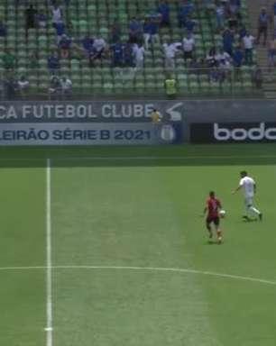 SÉRIE B: Gols de Cruzeiro 2 x 0 Brasil de Pelotas