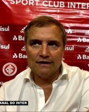"""INTERNACIONAL: Aguirre reconhece queda de rendimento da equipe do primeiro para o segundo tempo: """"Se você não mata o jogo, pode perder"""""""