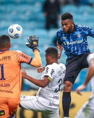 Miguel Borja é baixa no Grêmio pelas próximas quatro semanas