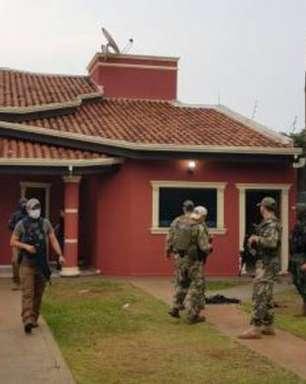 Polícia fecha bunker de justiceiros na fronteira do Paraguai