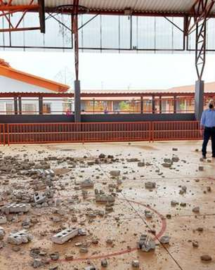 Moradores do interior de SP sofrem com tempestades de areia