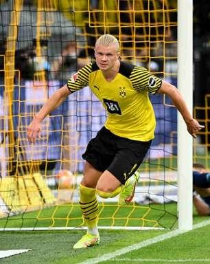 Borussia Dortmund planeja quase dobrar salário de Haaland para manter o atacante até 2023