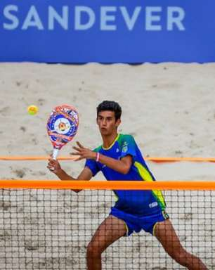 Brasil derruba a Rússia e encara a Espanha na semi do Mundial juvenil de Beach Tennis