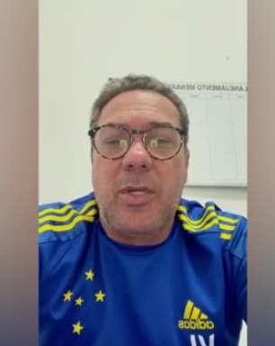CRUZEIRO: Vanderlei Luxemburgo desmente que esteve em conversas para contratar Germán Cano para o Cruzeiro