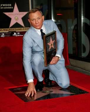 Daniel Craig inaugura estrela na Calçada da Fama