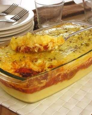 Receitas de polenta recheada para um almoço em família