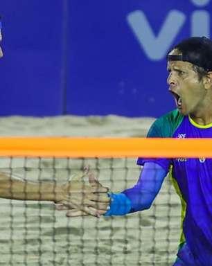 Brasil empolga, bate a Venezuela e vai às quartas do Mundial de Beach Tennis