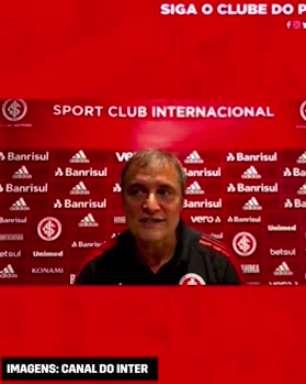 INTERNACIONAL: Aguirre explica mudanças no time no empate diante do Ceará fora de casa