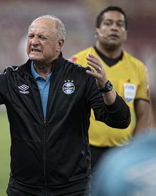 """Felipão critica vazamento no Grêmio: """"Mentiroso, cafajeste"""""""