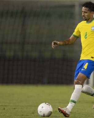 Marquinhos reconhece dificuldade do Brasil, mas comemora vitória: 'Resultado final é o mais importante'